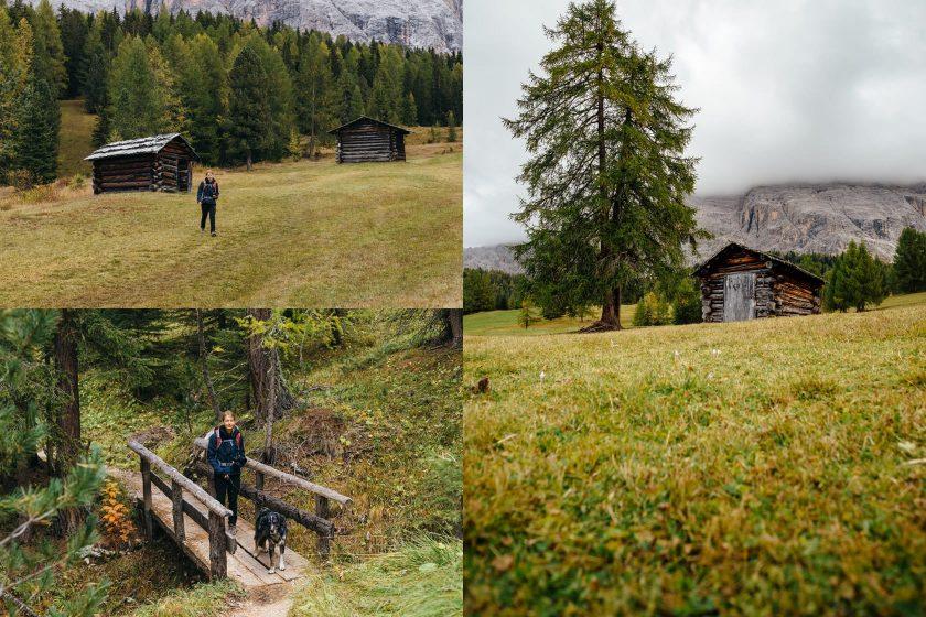 Die Armentarawiesen in Süd Tirol.