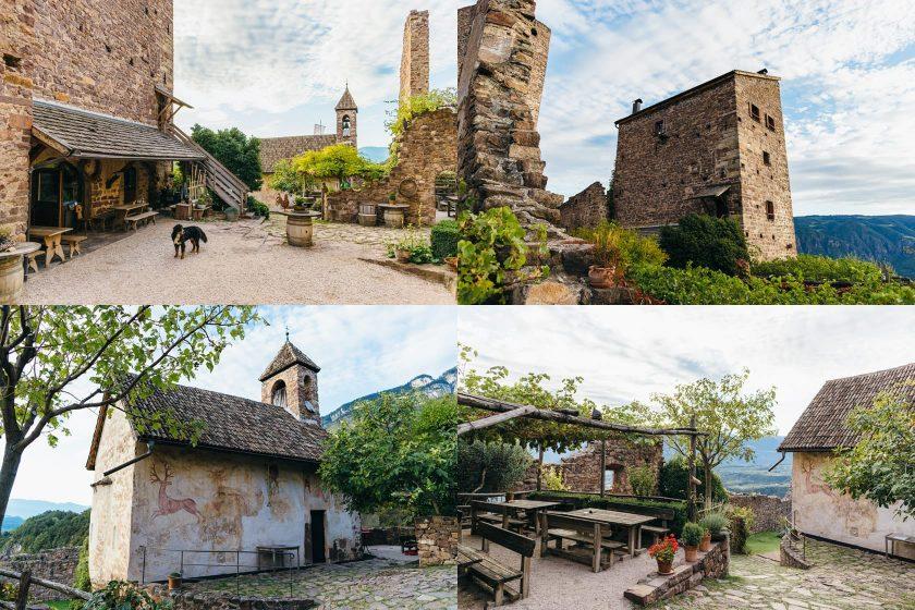 Ein paar Impressionen von der Burg Hocheppan.