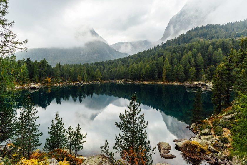 Der Lago Di Saoseo in der schönen Schweiz.