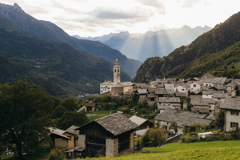 Der Ort Soglio in der Schweiz – ein Traum!