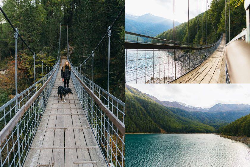 Wanderung um den Vernagt Stausee in Süd Tirol.